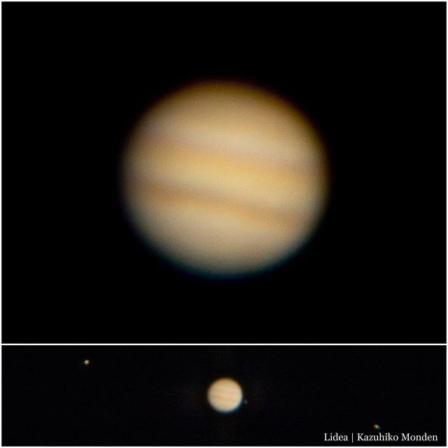 Jupiter & Satellites木星をダラダラ眺めるのもいい