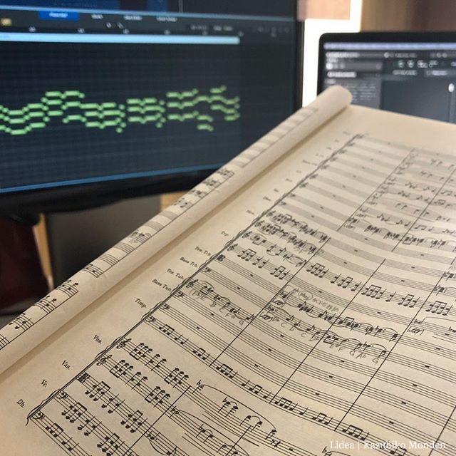 せっかく時間が出来たので、ずっと避けてきていたオーケストラスコアの譜読み勉強を始めたものの、移調楽器と五線譜の制限による読みにくさに手こずってる昨今。なかなか進まない。
