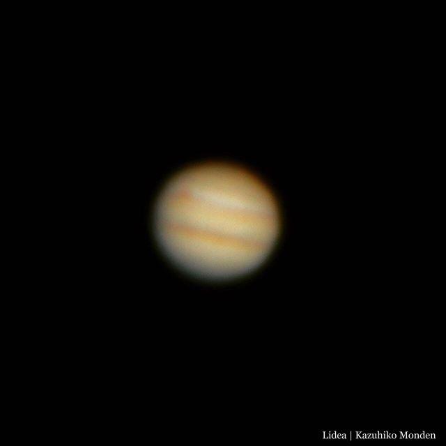 今夜は木星がよく見えるJupiter