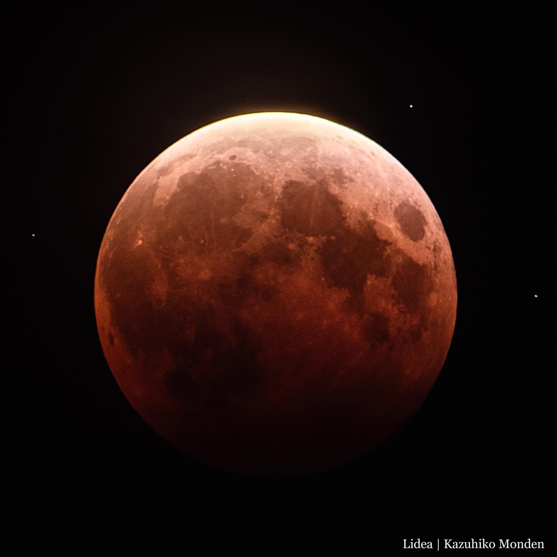 Total Lunar Eclipse / 皆既月蝕