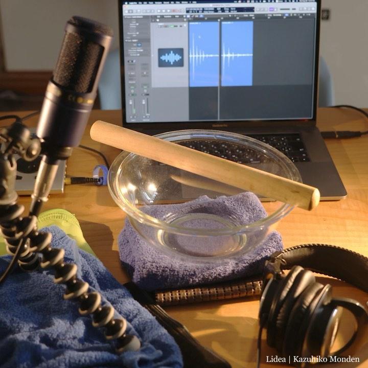 自宅のガラスボウルが良い音するので、サンプリングして楽器にしてみた。初KONTAKT自作。(デモ曲付き)Homemade Glass-Bowl Virtual Instrument on KONTAKT
